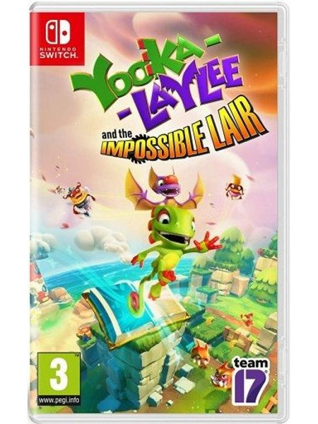 Image of   Yooka-laylee And The Impossible Lair - Nintendo Switch