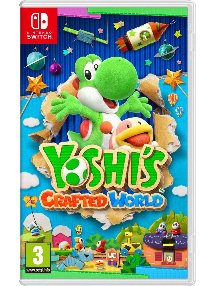 Image of   Yoshis Crafted World - Nintendo Switch
