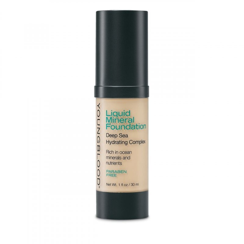 Image of   Youngblood Liquid Mineral Foundation - Shell - 30 Ml.