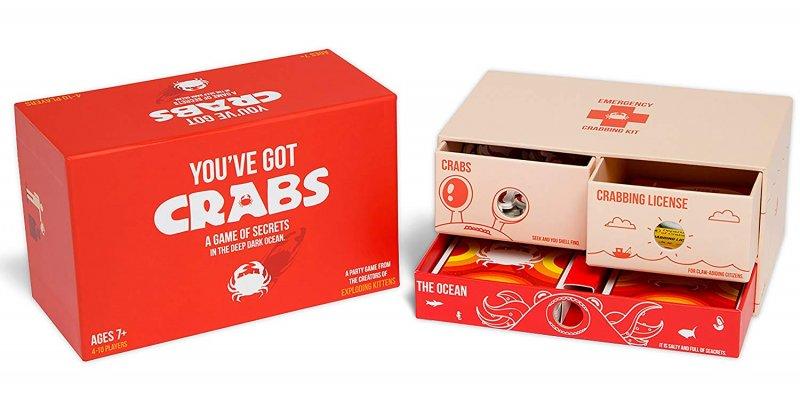 You've Got Crabs - Brætspil - Engelsk