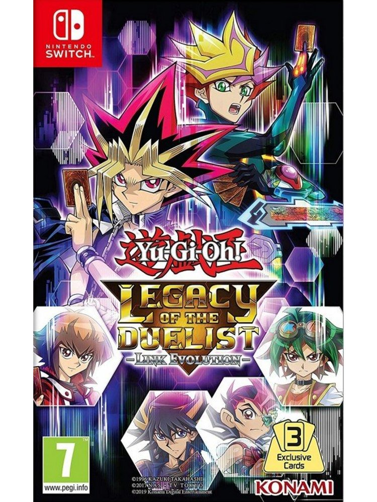 yugioh legacy of the duelist link evolution nintendo