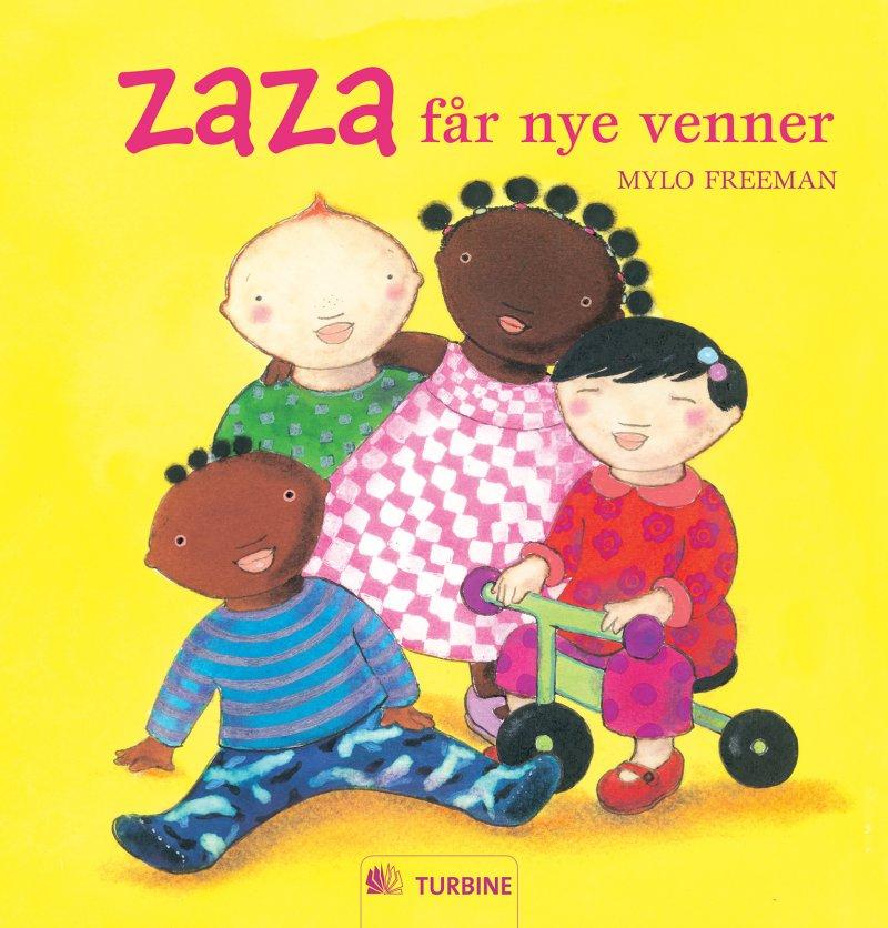 Zaza Får Nye Venner - Mylo Freeman - Bog