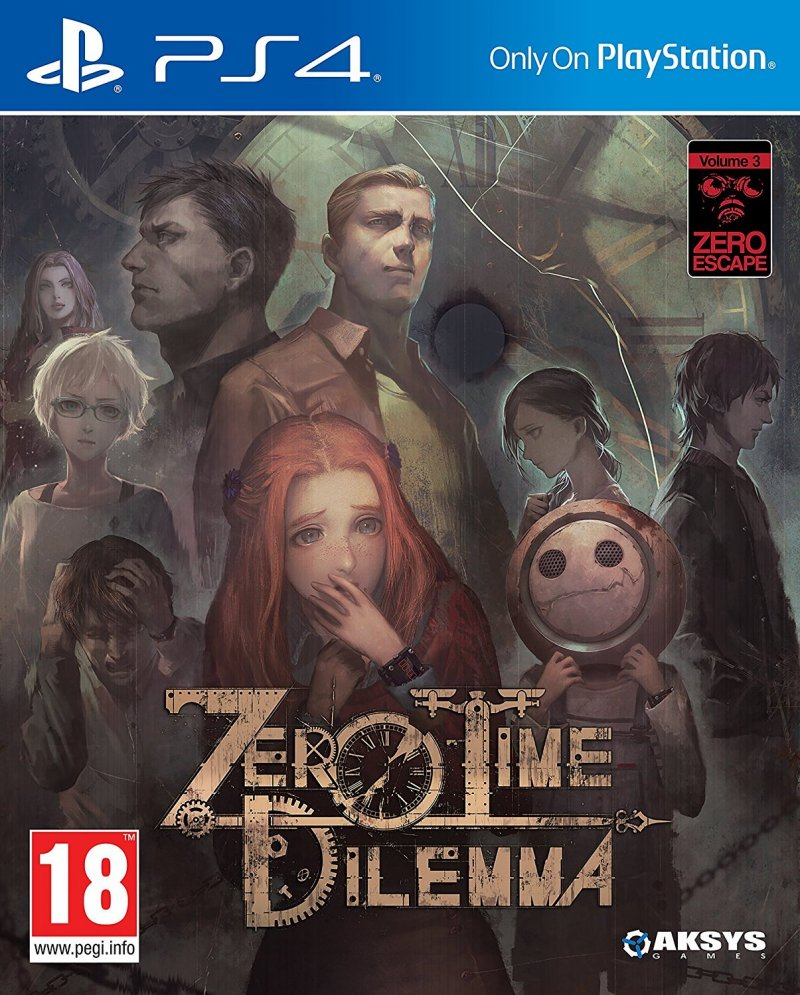 Image of   Zero Time Dilemma - PS4