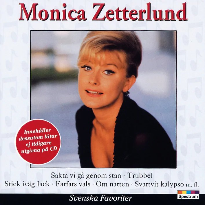 Monica Zetterlund - Svenske Favoriter - CD