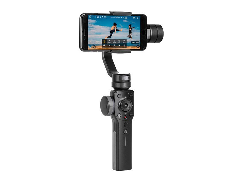 Image of   Zhiyun - Smooth 4 - Gimbal Stabilizer Til Iphone Og Smartphone - Sort