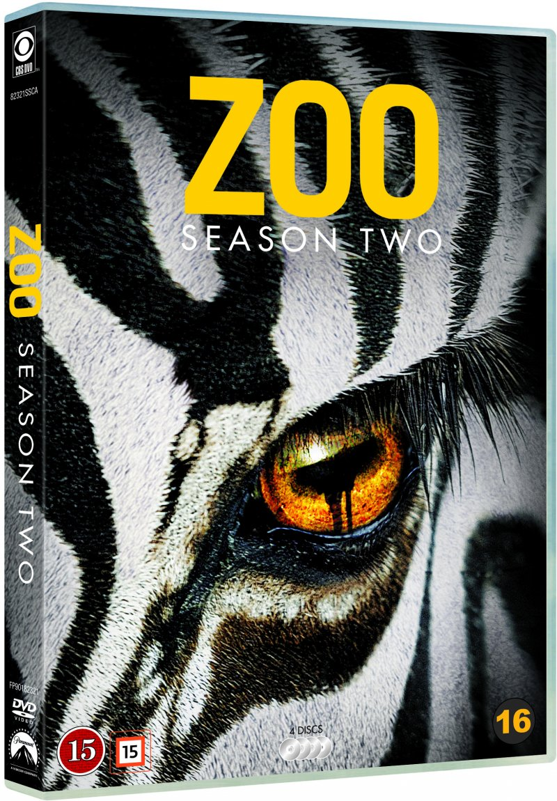 Image of   Zoo - Sæson 2 - DVD - Tv-serie