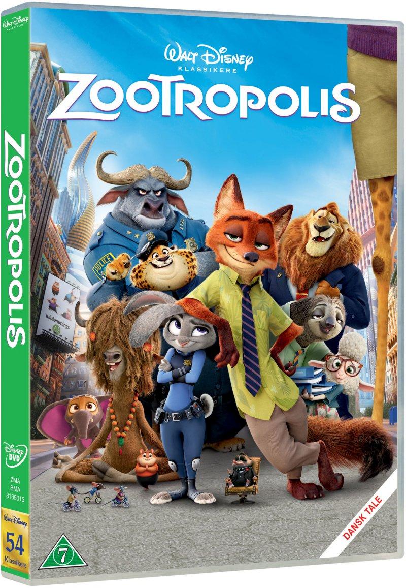 Billede af Zootropolis - Disney - DVD - Film
