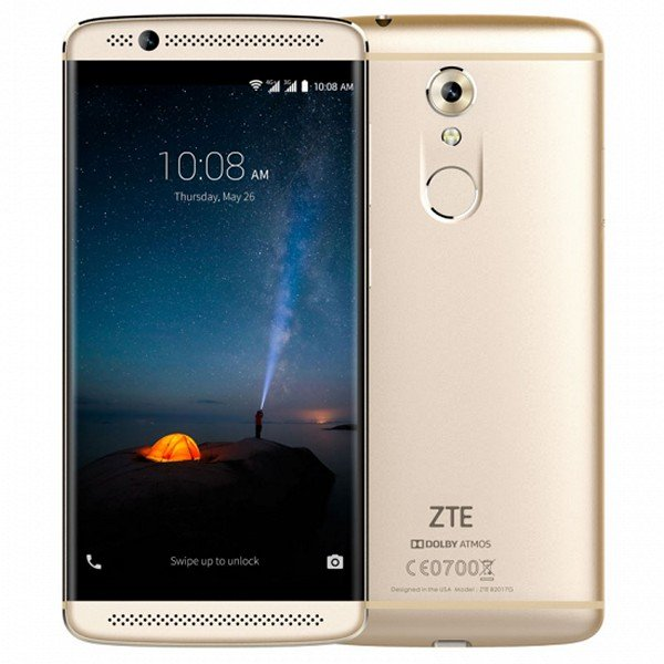 "Image of   Zte Axon 7 Mini Mobiltelefon - 5,2"" Display - 16mp Kamera - 32gb - Guld"