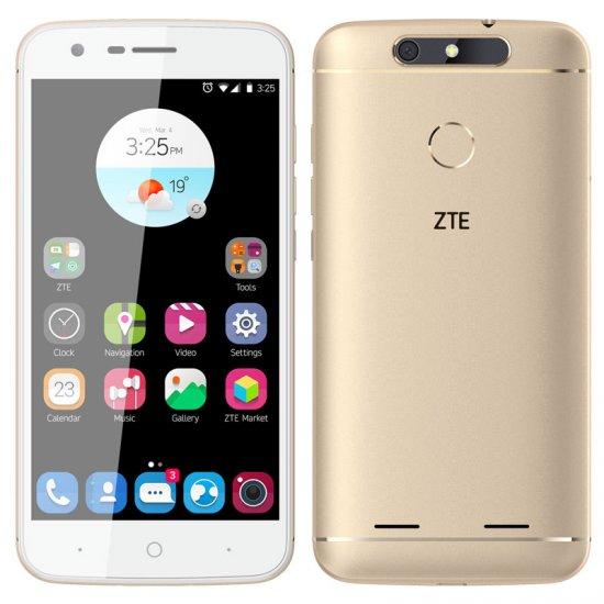"Image of   Zte V8 Smartphone - 5"" Display - 13mp Kamera - 16gb Plads - Guld"