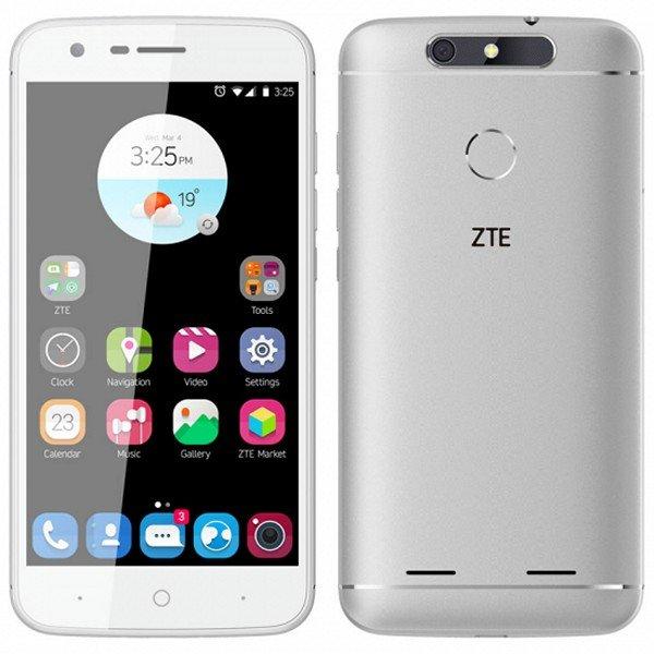 """Image of   Zte V8 Smartphone - 5"""" Display - 13mp Kamera - 16gb Plads - Hvid"""