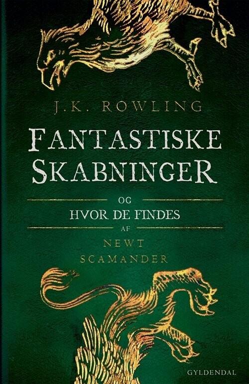 Fantastiske Skabninger Og Hvor De Findes Af J K Rowling Indbundet Bog Gucca Dk