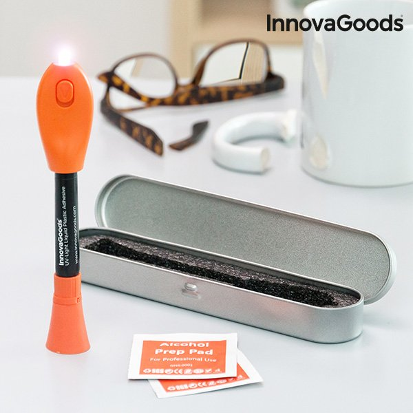 Meget Innovagoods Hurtigttørende Plastik Lim Med Uv Lys → Køb billigt her BK81