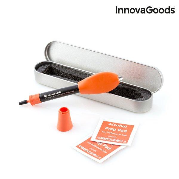 Ny Innovagoods Hurtigttørende Plastik Lim Med Uv Lys → Køb billigt her BE28
