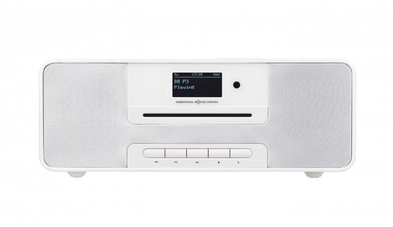 Dab+ Radio Med Cd Afspiller Og Bluetooth - Irc Ikr1360 - Hvid → Køb billigt her