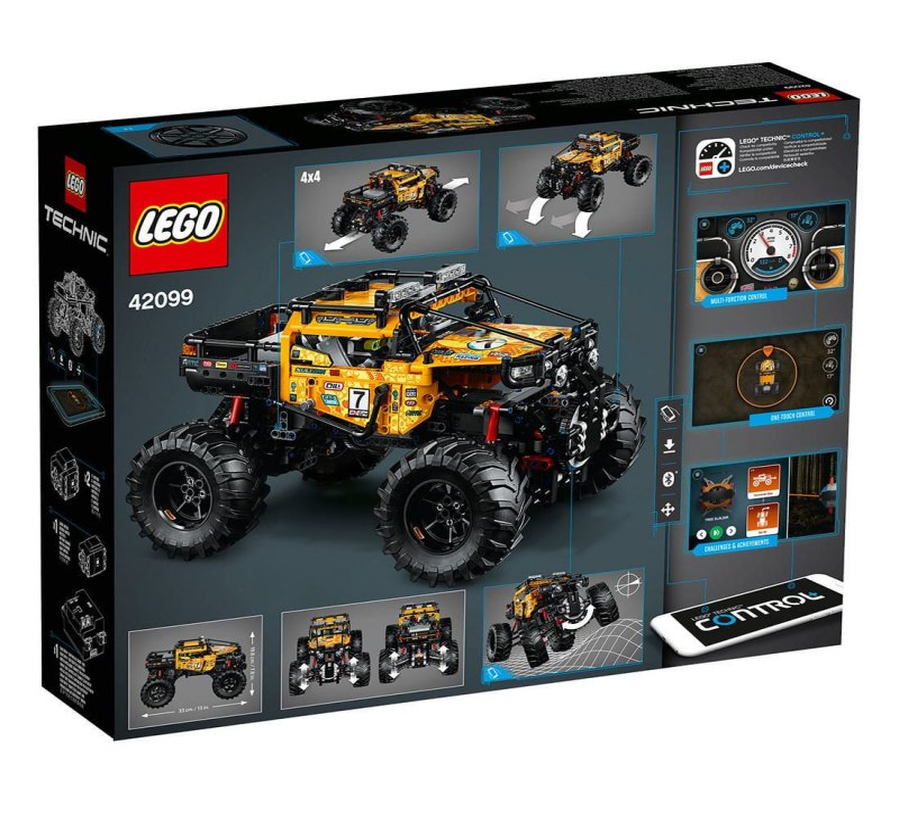 Lego Technic Firhjulstrukket 4x4 X Treme Off Roader