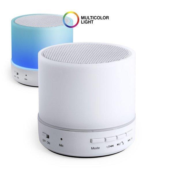 Lækker Lille Trådløs Bluetooth Højtaler Med Lys Inkl. Usb Kabel - Fm PK-24