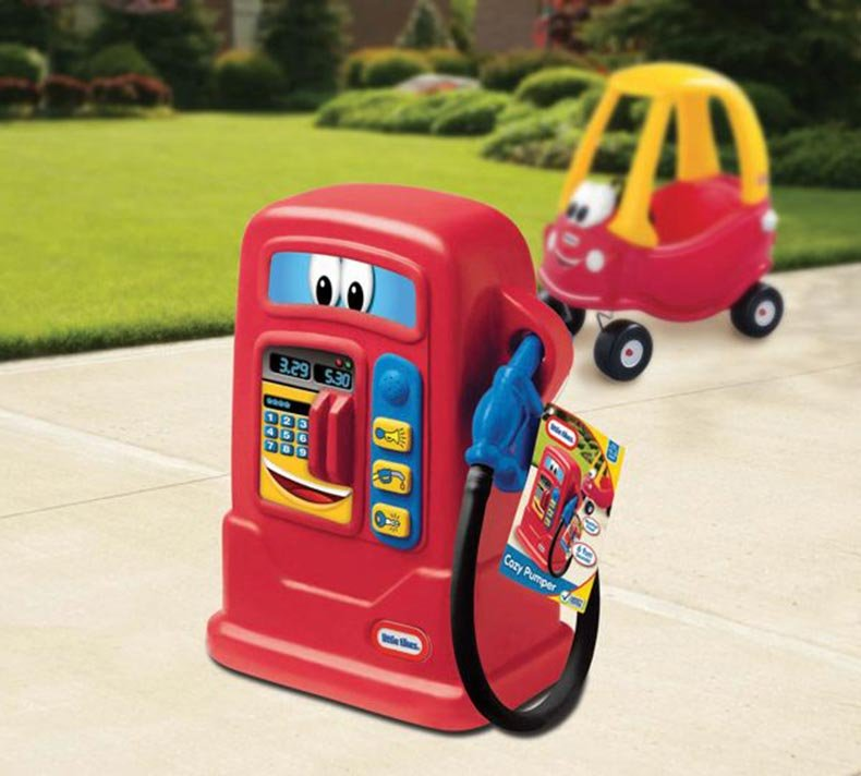Hypermoderne Little Tikes - Cozy Pumper Benzinpumpe → Køb billigt her OQ-67