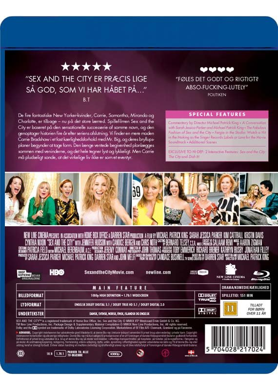 Sex And The City The Movie Blu Ray 6