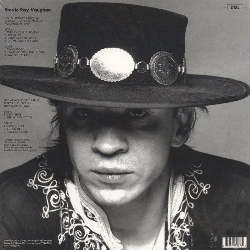 Stevie Ray Vaughan Live In