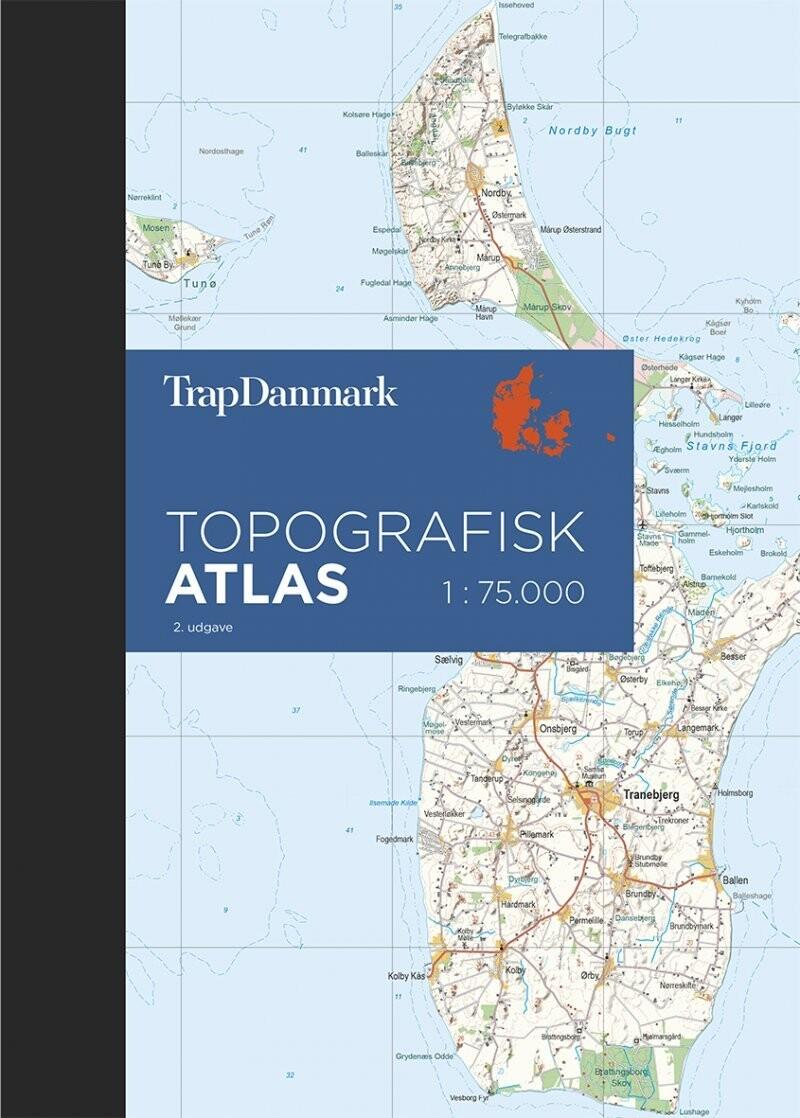 Trap Danmark Topografisk Atlas 2 Udgave Af Trap Danmark